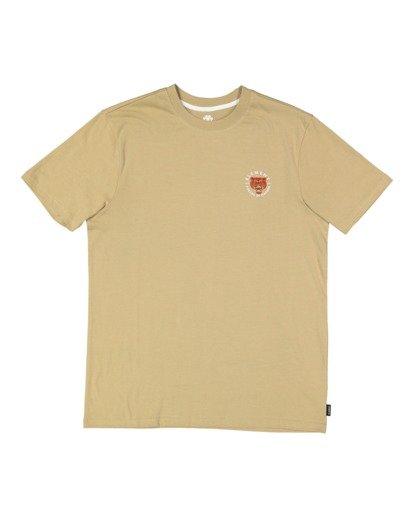 5 Bite Short Sleeve Tee Grey 112002 Element