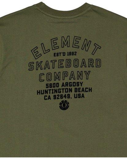 7 Address Short Sleeve Tee Green 112003 Element