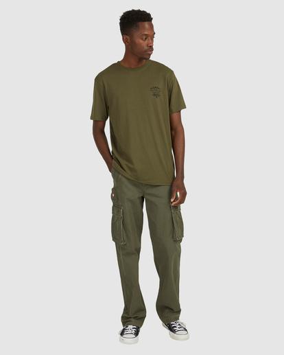 8 Address Short Sleeve Tee Green 112003 Element