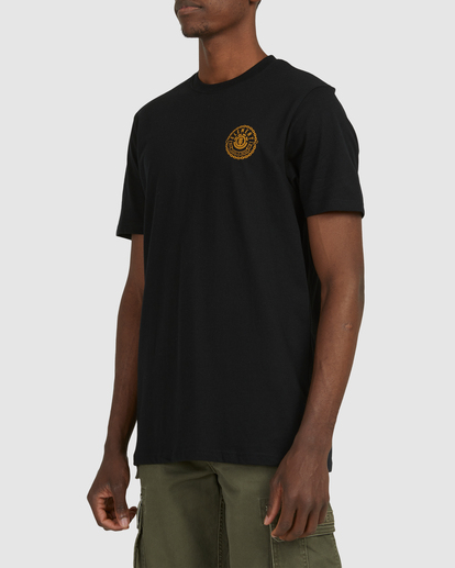 2 Chains Short Sleeve Tee Black 112010 Element
