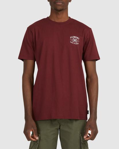 1 Endure Short Sleeve Tee Red 112011 Element