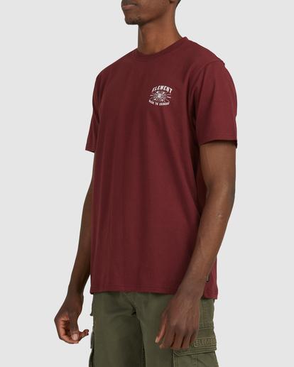 2 Endure Short Sleeve Tee Red 112011 Element