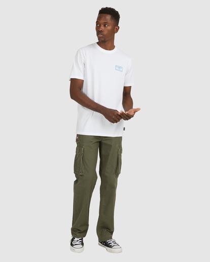 7 Fun Box Short Sleeve Tee White 112012 Element