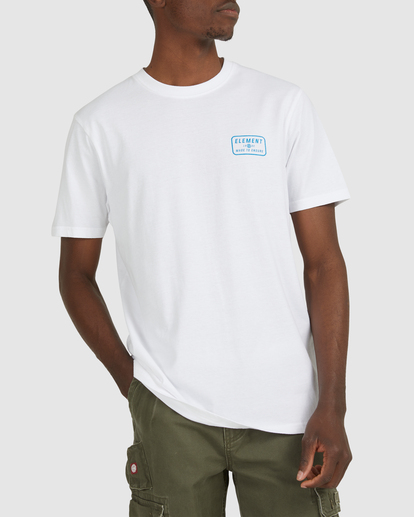 0 Fun Box Short Sleeve Tee White 112012 Element