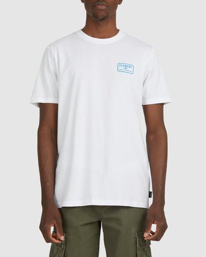 1 Fun Box Short Sleeve Tee White 112012 Element