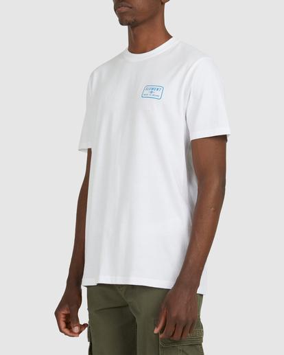 2 Fun Box Short Sleeve Tee White 112012 Element
