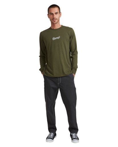 5 SIMPLE TRUTH LONG SLEEVE TEE Green 117053 Element