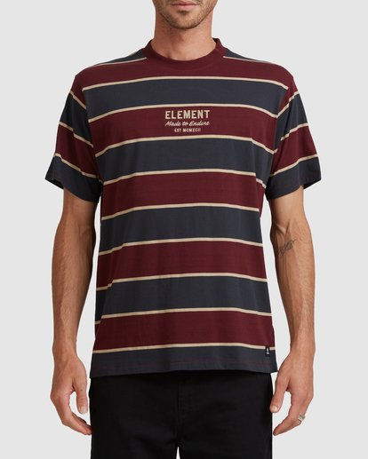1 LEVEL 3 SHORT SLEEVE TEE Red 117102 Element