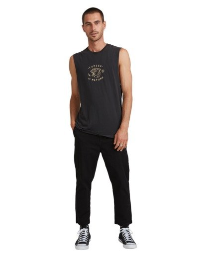 5 FORCE OF NATURE MUSCLE TEE Black 117271 Element