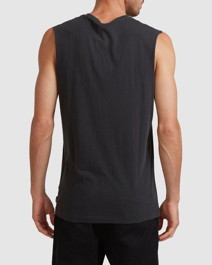 3 FORCE OF NATURE MUSCLE TEE Black 117271 Element