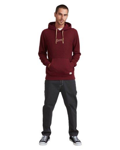 5 SIMPLE TRUTH HOODIE Red 117307 Element