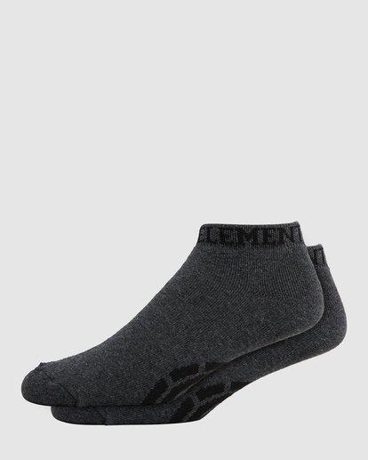 0 ELEMENT ANKLE SOCKS Grey 166695 Element
