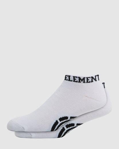 0 ELEMENT ANKLE SOCKS White 166696 Element