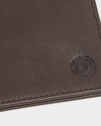 6 CORPO LEATHER WALLET Brown 173573 Element