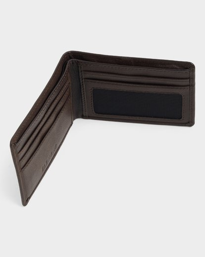 5 CORPO LEATHER WALLET Brown 173573 Element