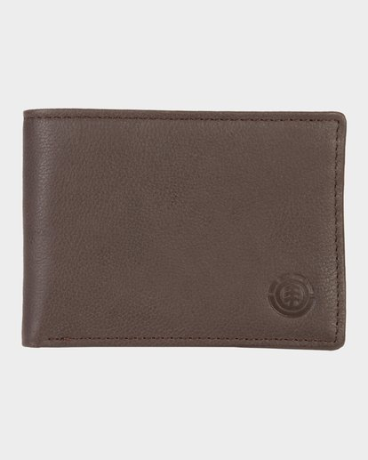 0 CORPO LEATHER WALLET Brown 173573 Element