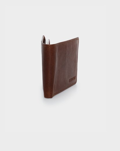 1 CHIEF LEATHER WALLET Brown 174571 Element