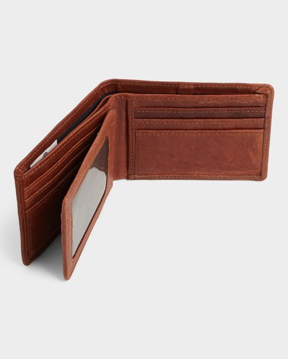 4 CHIEF LEATHER WALLET Brown 174571 Element