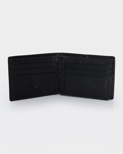 2 CHIEF LEATHER WALLET Black 174571 Element