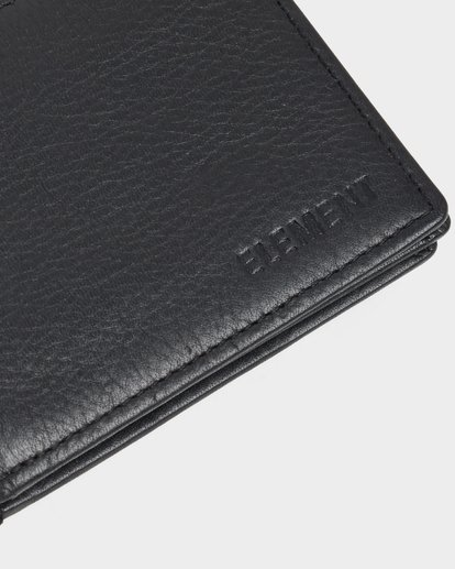 5 CHIEF LEATHER WALLET Black 174571 Element