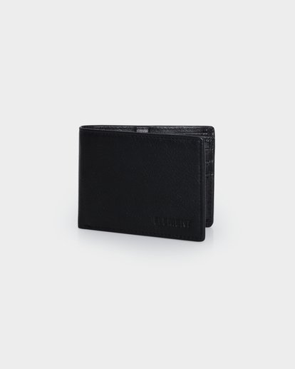 0 CHIEF LEATHER WALLET Black 174571 Element