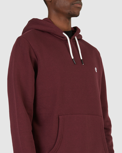 4 CORNELL CLASSIC HOODIE Red 176303 Element