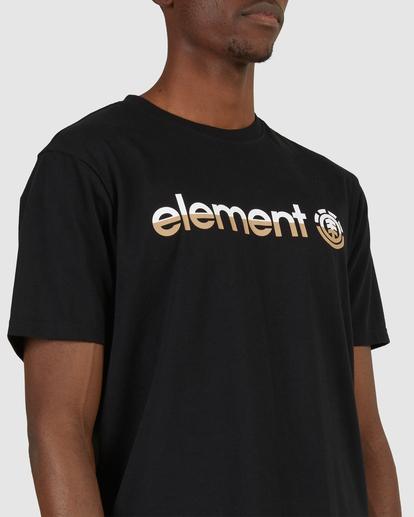 4 HORIZON SHORT SLEEVE TEE Black 183001 Element