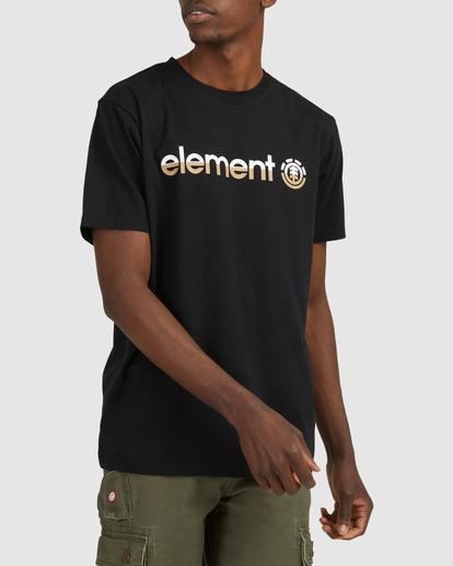 0 HORIZON SHORT SLEEVE TEE Black 183001 Element