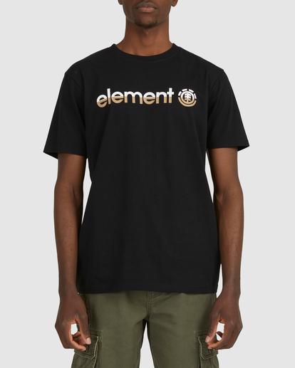 1 HORIZON SHORT SLEEVE TEE Black 183001 Element