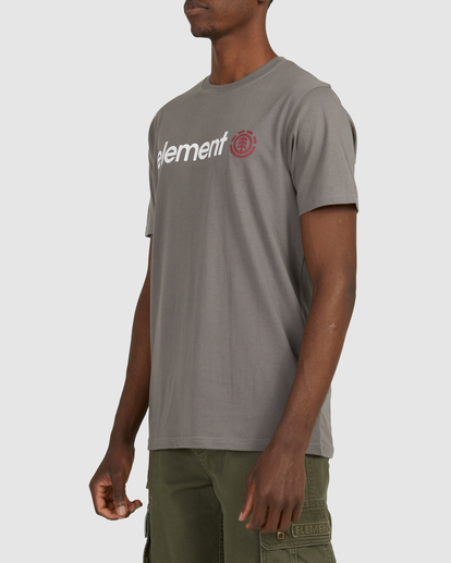 2 HORIZON SHORT SLEEVE TEE Grey 183001 Element