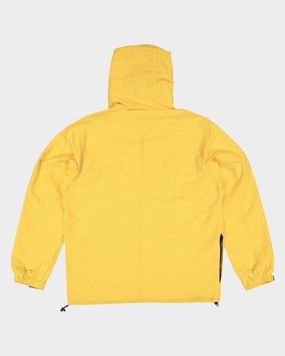 6 ORION ANORAK JACKET Yellow 183456 Element