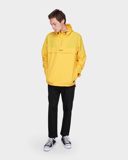7 ORION ANORAK JACKET Yellow 183456 Element