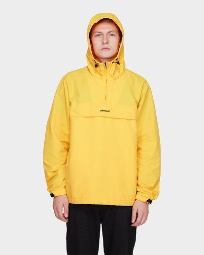 4 ORION ANORAK JACKET Yellow 183456 Element