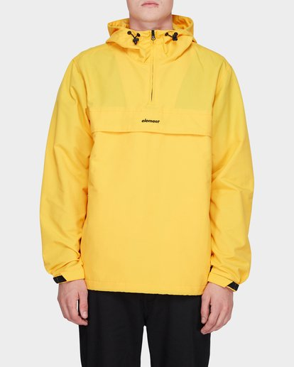 1 ORION ANORAK JACKET Yellow 183456 Element