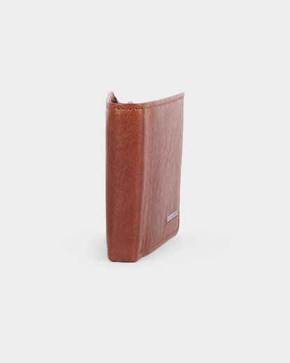 1 MODE LEATHER WALLET Brown 183572 Element