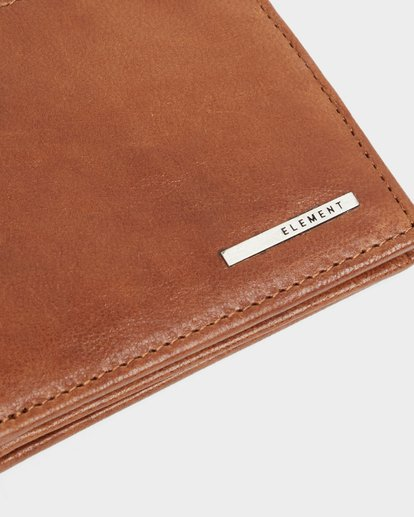 5 MODE LEATHER WALLET Brown 183572 Element