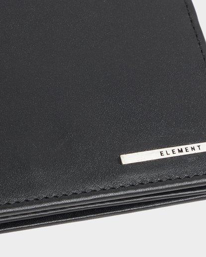 5 MODE LEATHER WALLET Black 183572 Element