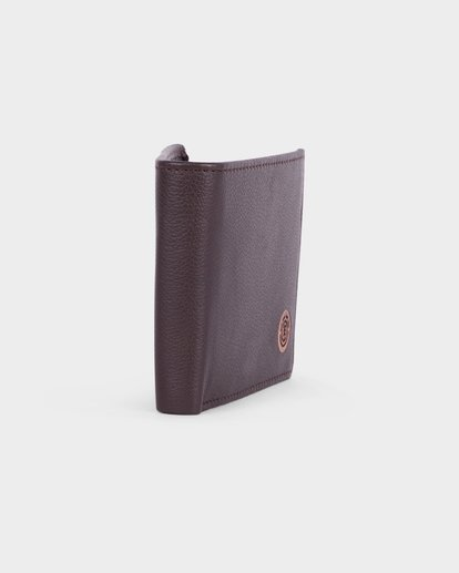 1 ICON LEATHER WALLET Brown 183573 Element