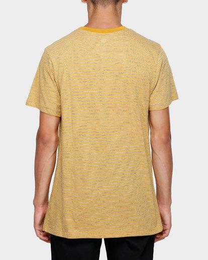 1 MELLOW SHORT SLEEVE TEE Yellow 193007 Element