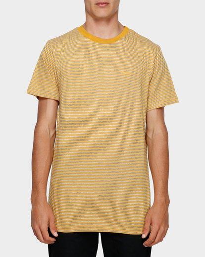 0 MELLOW SHORT SLEEVE TEE Yellow 193007 Element