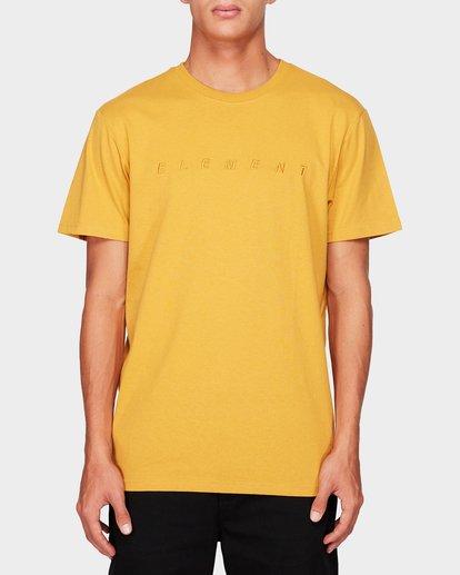 0 MERC SHORT SLEEVE TEE Yellow 193010 Element