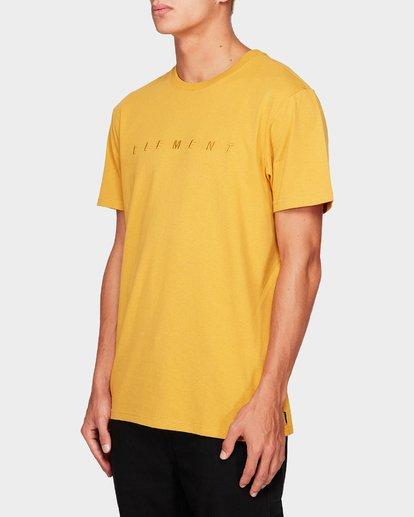 2 MERC SHORT SLEEVE TEE Yellow 193010 Element