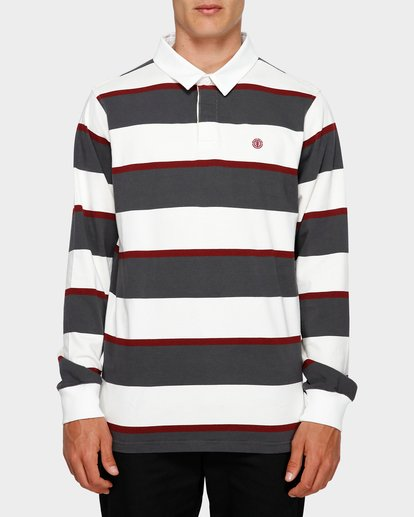 0 Chasin It Rugby Long Sleeve Polo  193151 Element