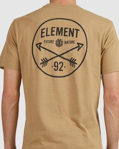 4 NYCA ENDURE SHORT SLEEVE TEE Green 194020 Element