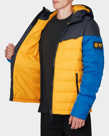 3 GRIFFIN LIGHT DOWN PUFFA JACKET Yellow 196466 Element