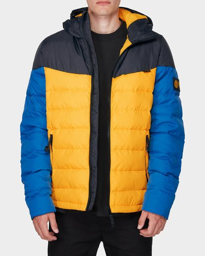 0 GRIFFIN LIGHT DOWN PUFFA JACKET Yellow 196466 Element