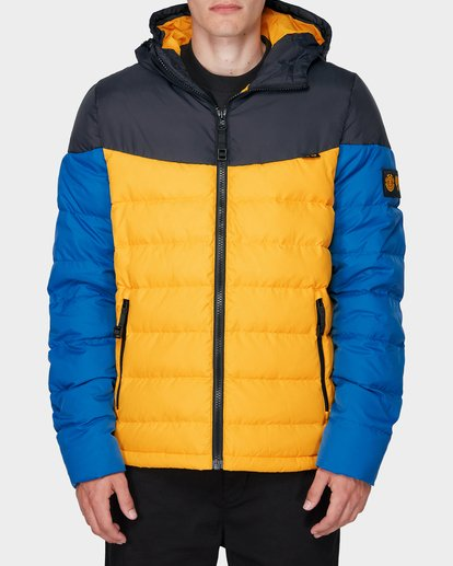 1 GRIFFIN LIGHT DOWN PUFFA JACKET Yellow 196466 Element