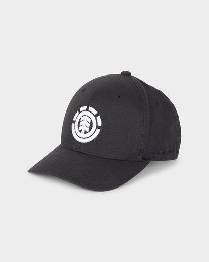 0 TREE FLEXFIT CAP Black 196602 Element
