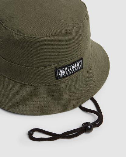 3 BENNY BUCKET HAT Green 202601 Element