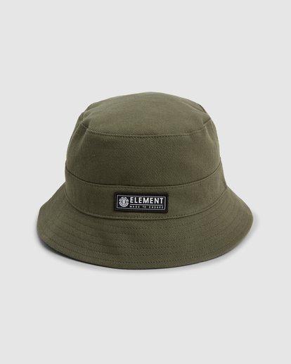 1 BENNY BUCKET HAT Green 202601 Element